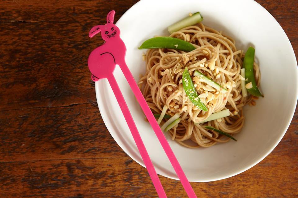 Peanut Butter Noodles Recipe — Dishmaps