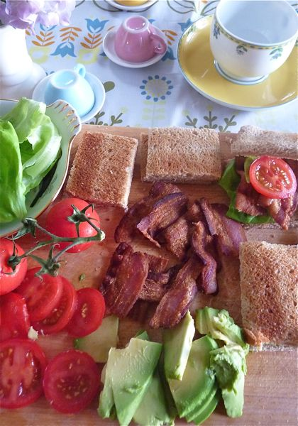 BLT tea party