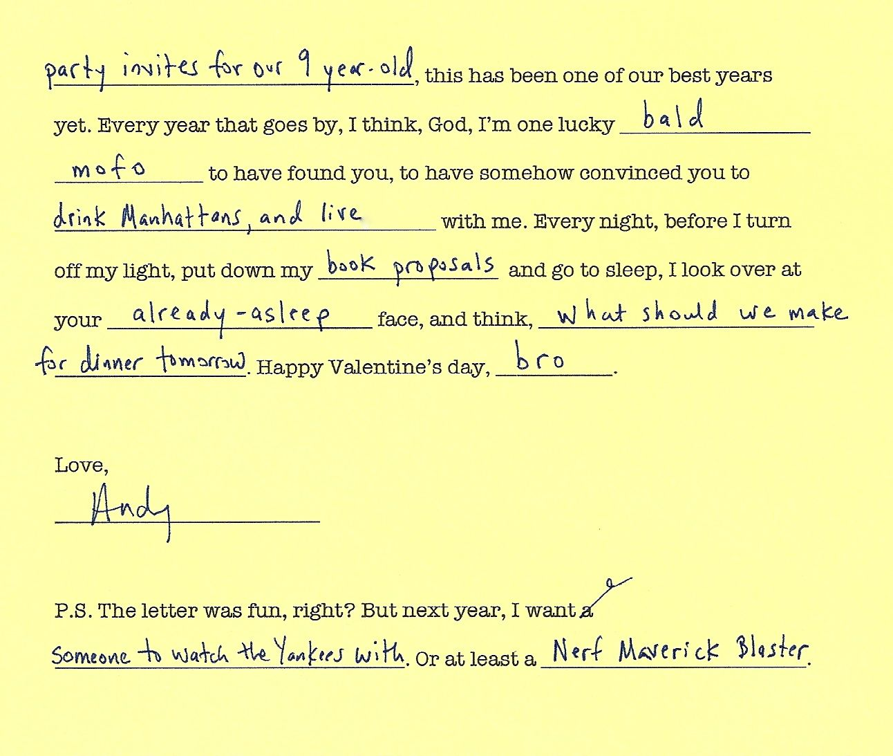 photograph about Dirty Mad Libs Printable identified as Crazy Lib Valentine - Evening meal: A Enjoy Tale