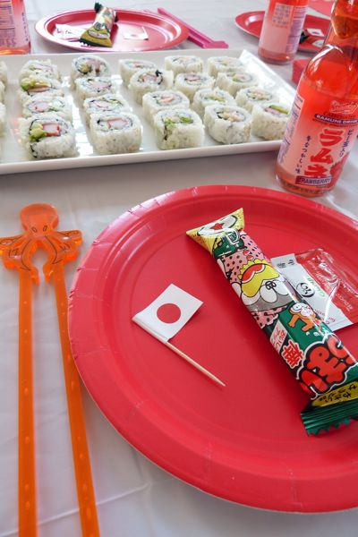 Dinner A Love Story Sayonara Seven A Candy Sushi Party Dinner A