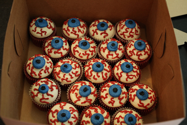 halloween eyeball cupcakes recipes
