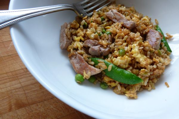 Dinner: A Love Story Quick and Easy Pork Fried Rice