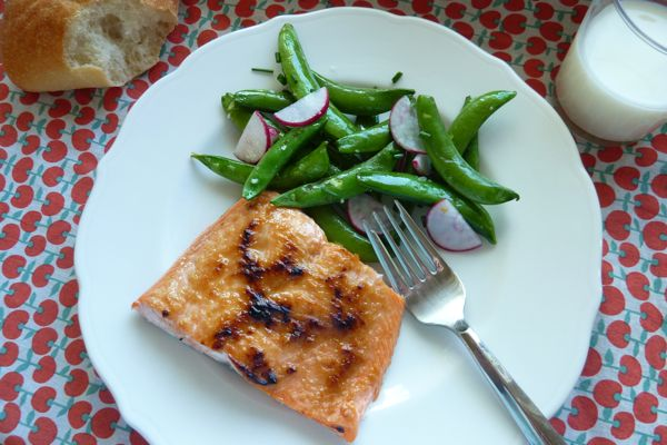 Dinner: A Love Story Quick Miso-Glazed Salmon