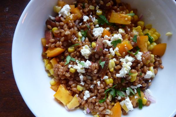 wheatberry salad