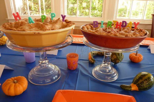 Birthday Pie Dinner A Love Story