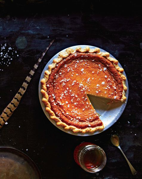 Dinner: A Love Story Maple Buttermilk Custard Pie (And Then Some)