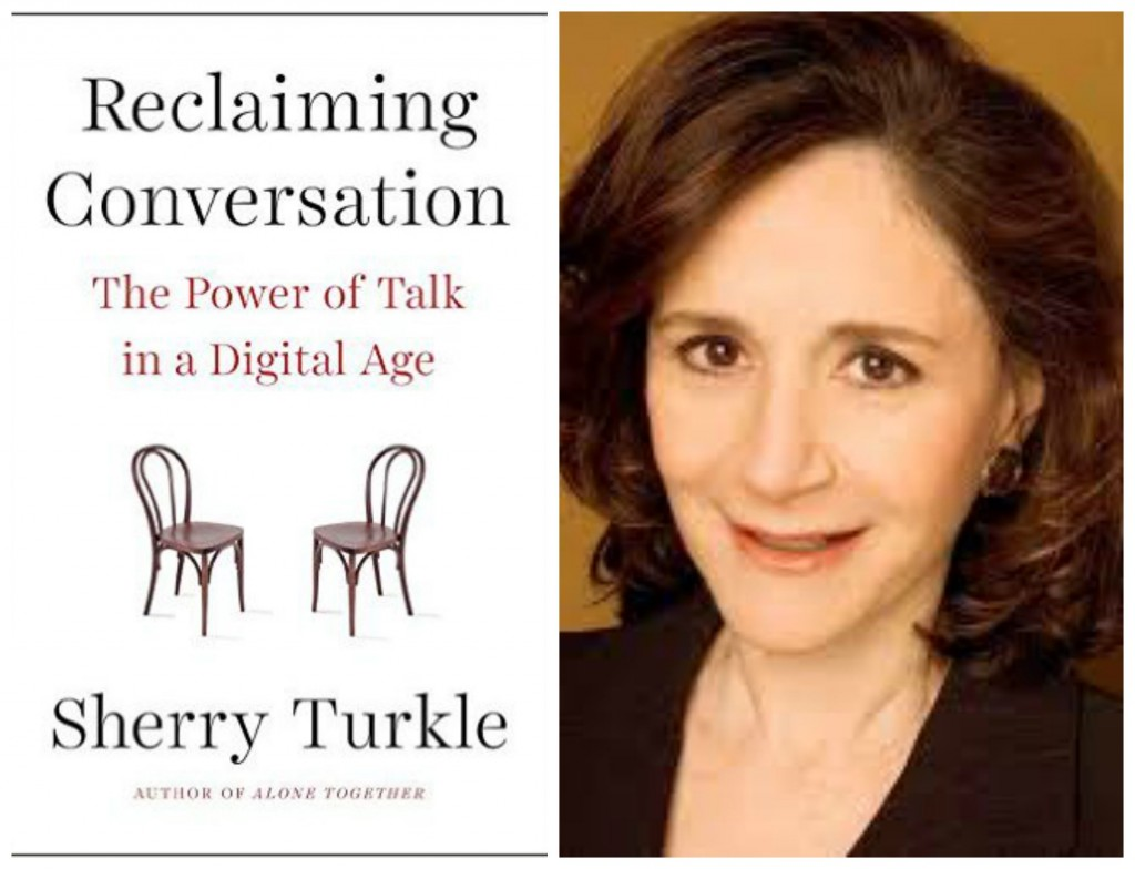 sherry turkle on technology Alone in the crowd sherry turkle says social networking is eroding our ability to live comfortably  no technology when i'm with my daughter or out with friends.