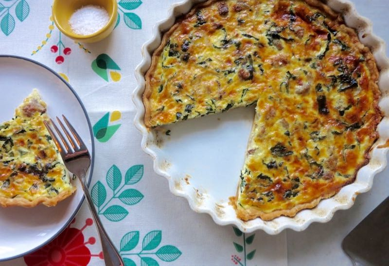 kale dinner tart recipe on food52 com my sausage and kale dinner tart ...