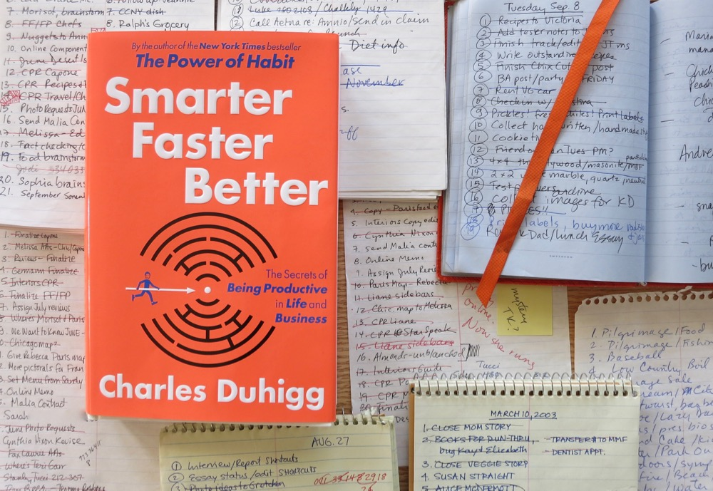 smarter faster better business books 2016