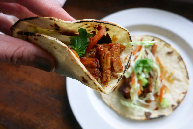 Slow Cooker Korean Tacos - Dinner: A Love Story