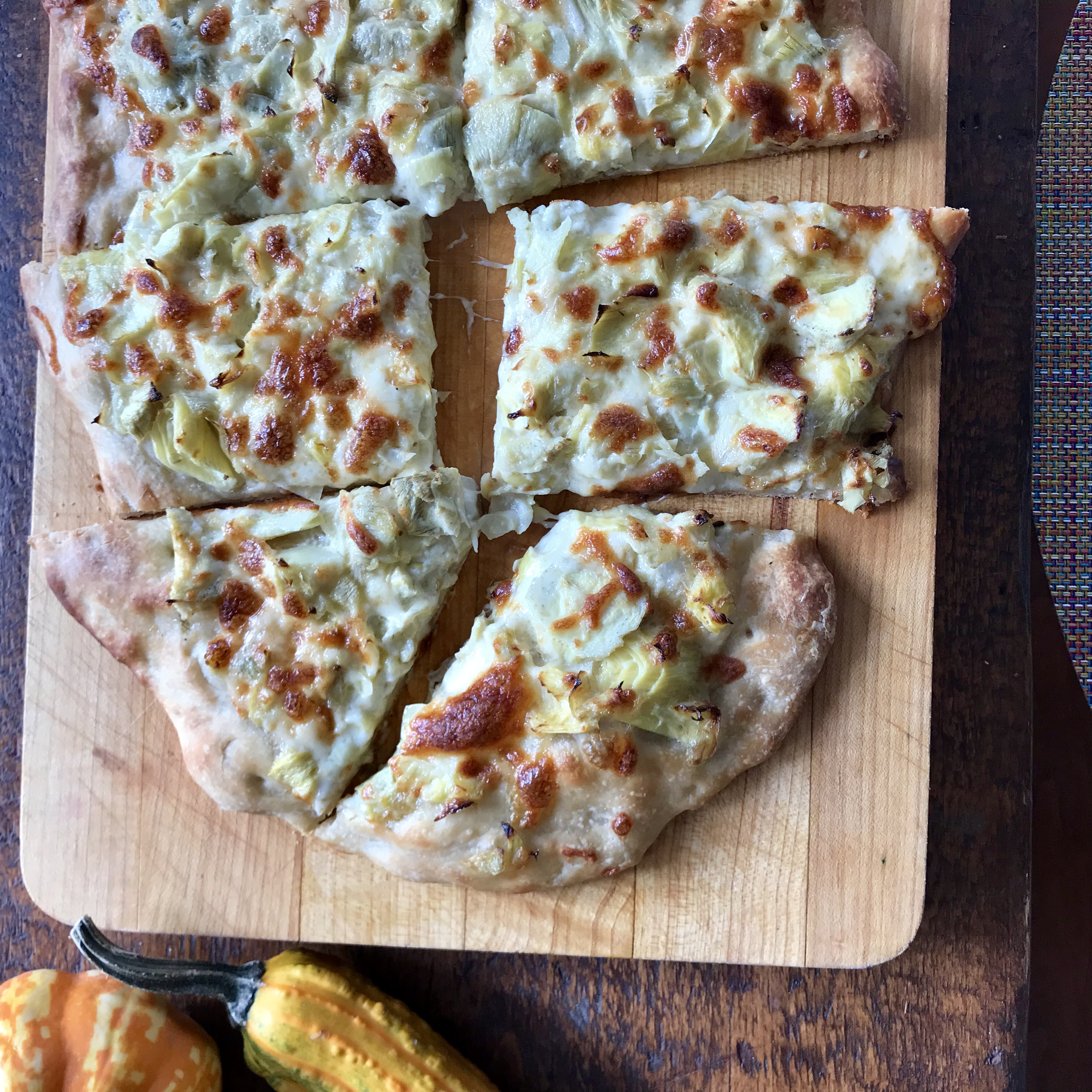 Artichoke Pizza On The Fly Dinner A Love Story Bloglovin Bay Area Meat Csa In Transition Chicken Recipes