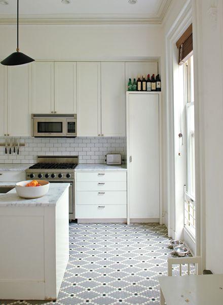 Subway Tile Kitchen Floor O2 Pilates